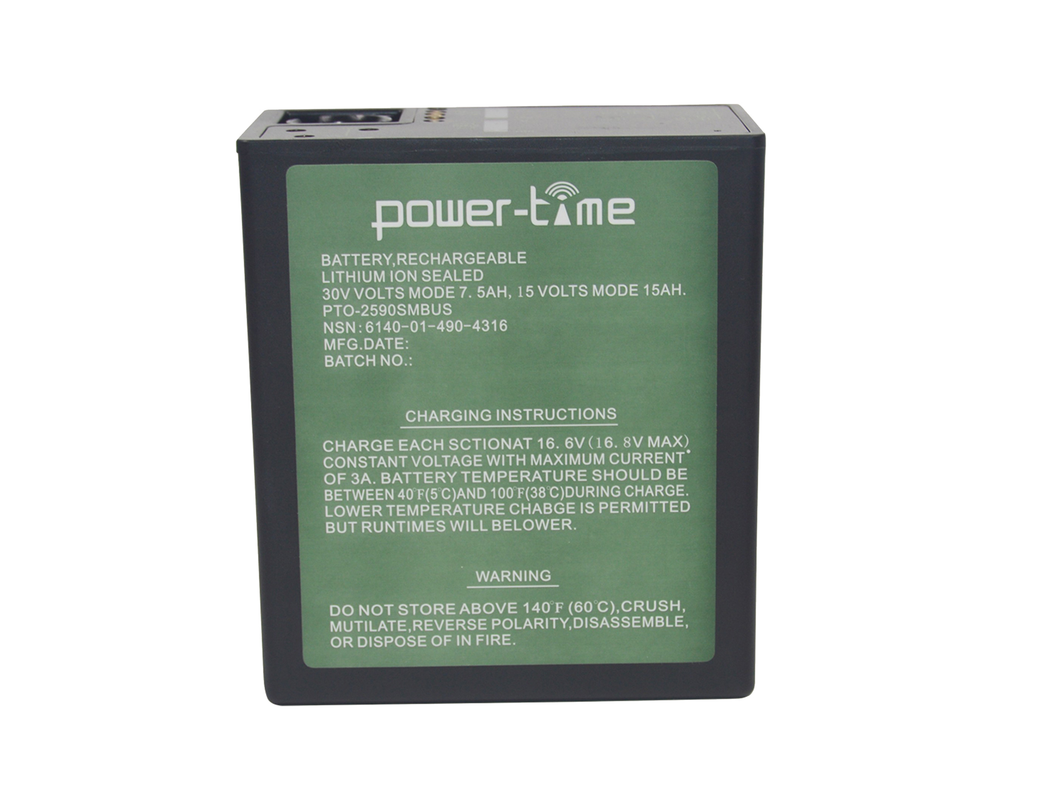 BB-2590/U alkaline battery