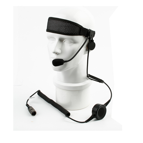 Single-ear tactical military headset