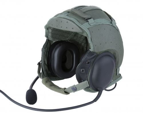 DH-132 CVC helmet headset with dynamic flexible microphone